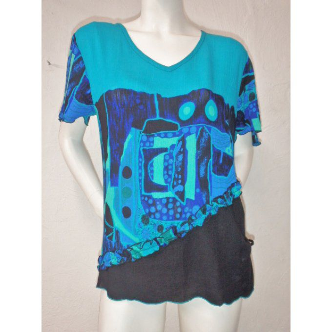 TOP CEBO TURQUOISE